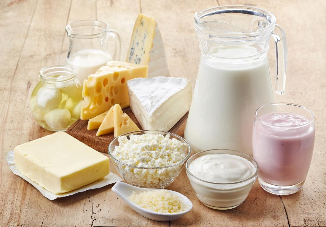 Remove dairy when trying to get pregnant