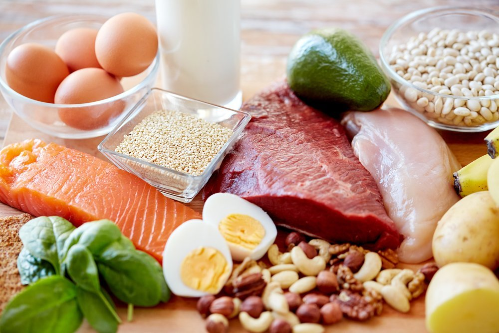 Healthy proteins improve your fertility